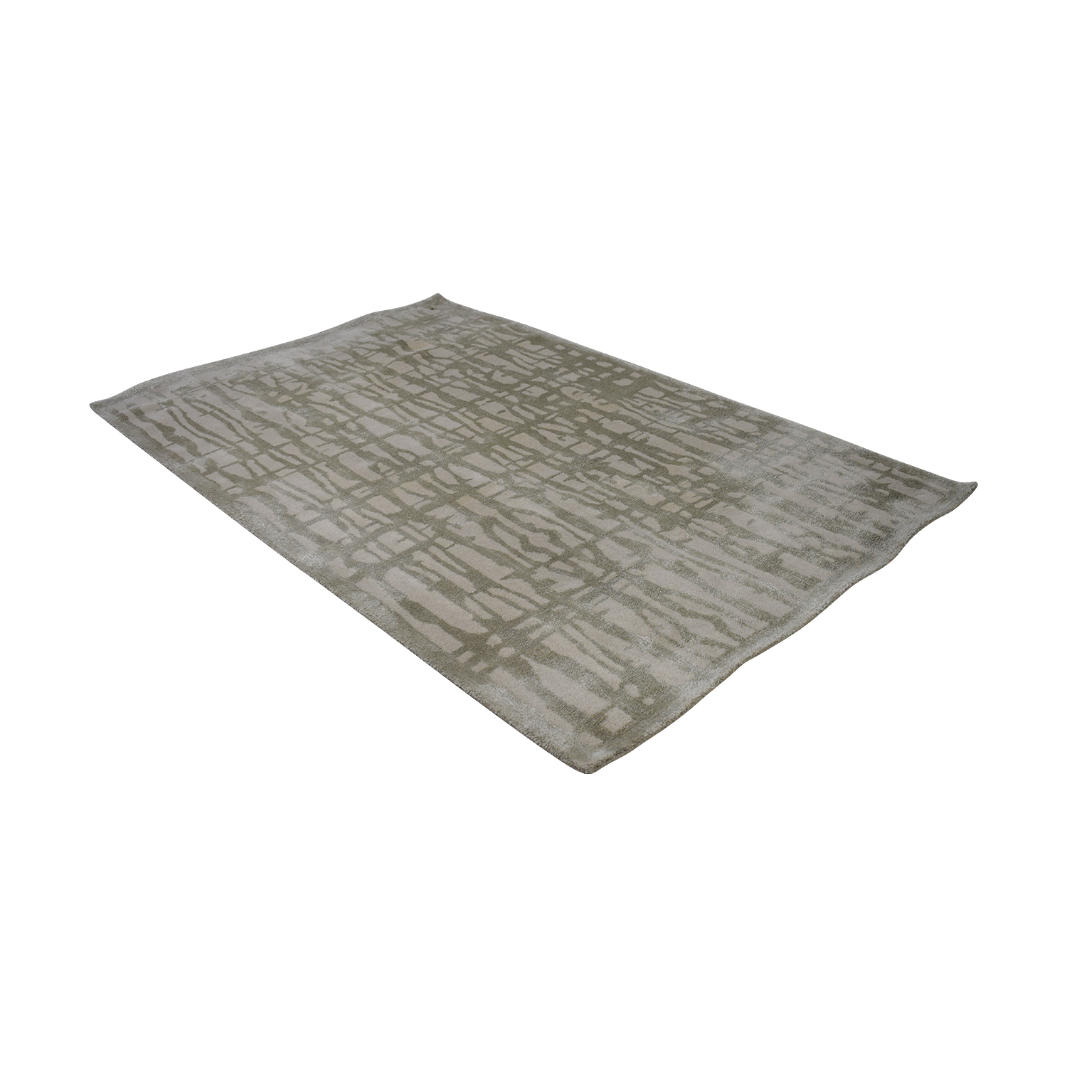 buy West Elm White and Grey Rug West Elm Rugs