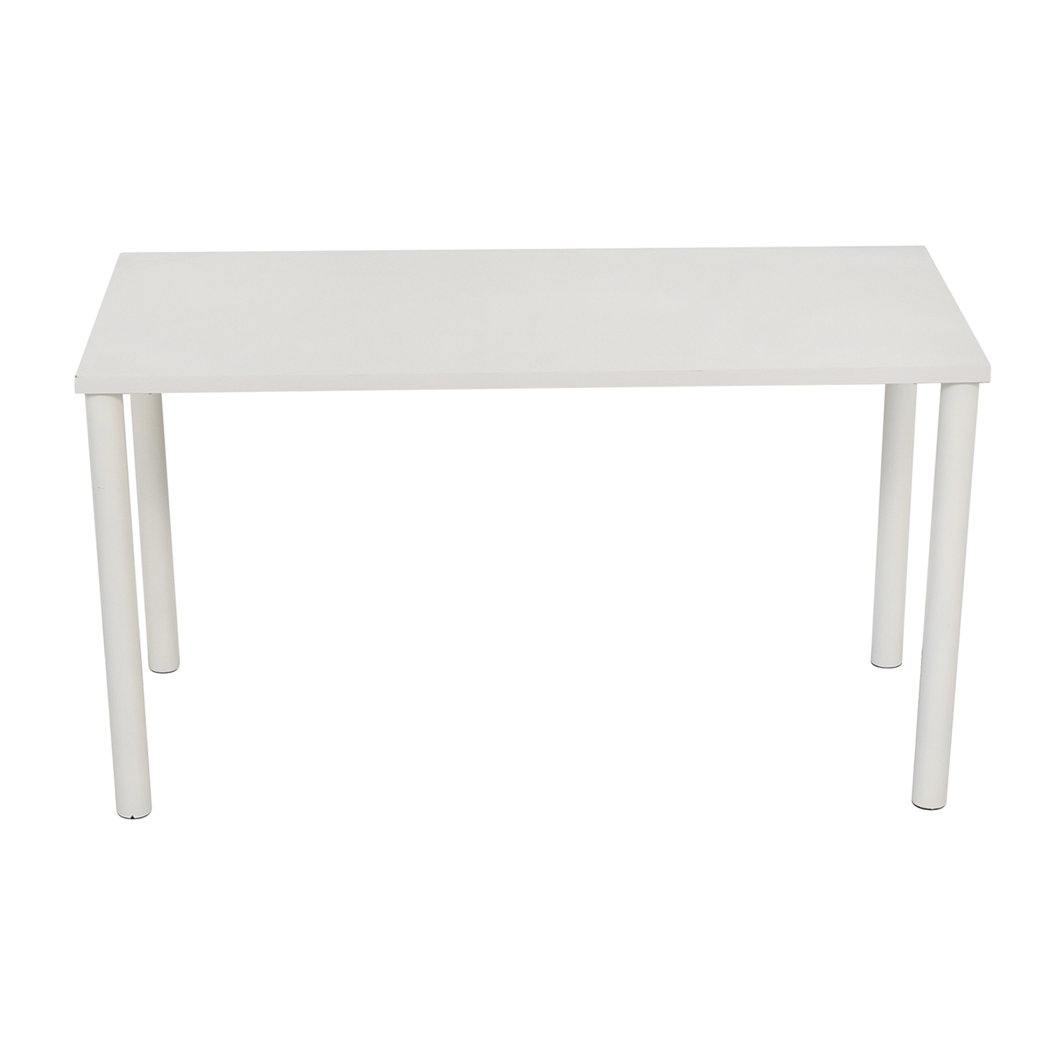 Container Store Container Store White Table White