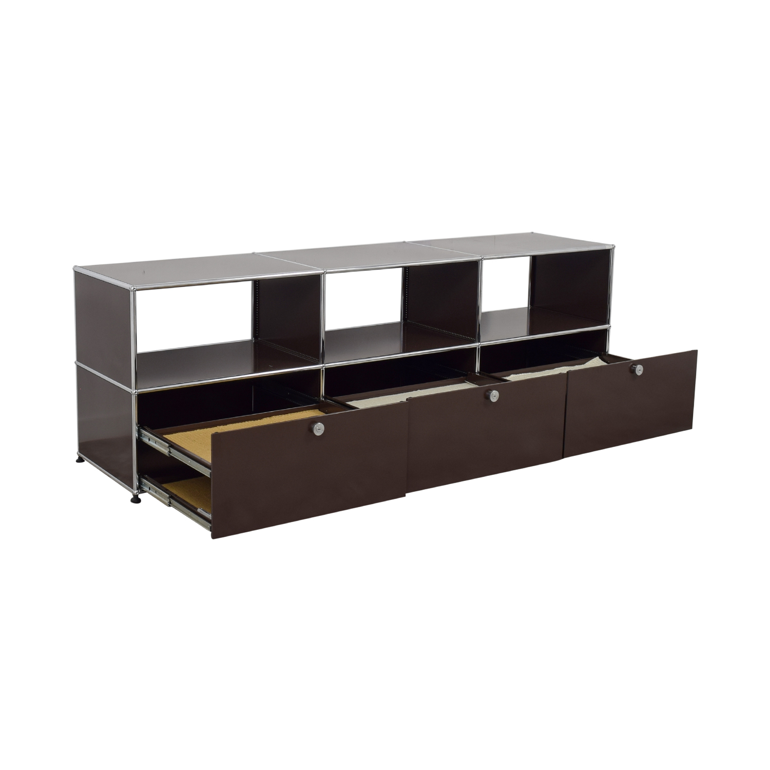 buy USM TV Console with Three-Drawers USM Storage