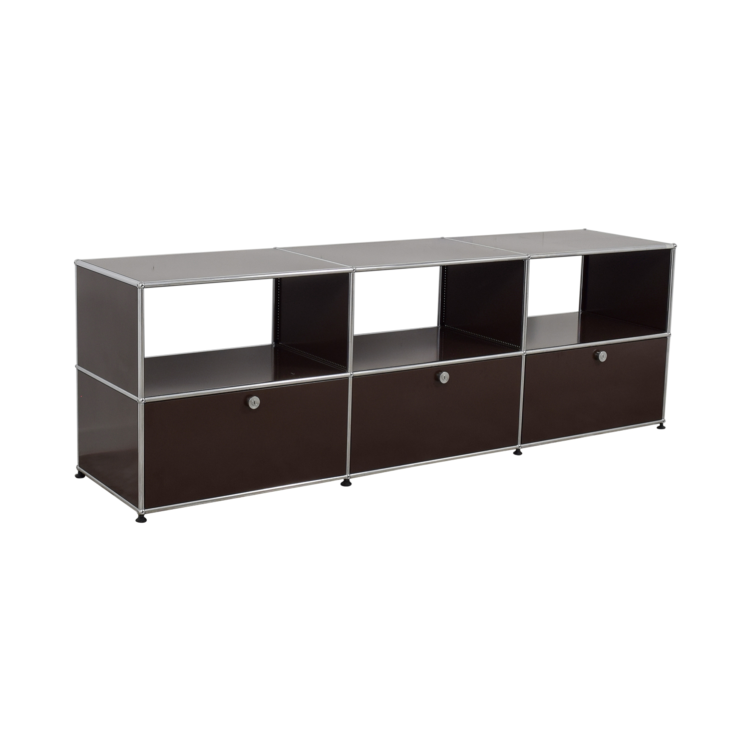 buy USM TV Console with Three-Drawers USM Media Units