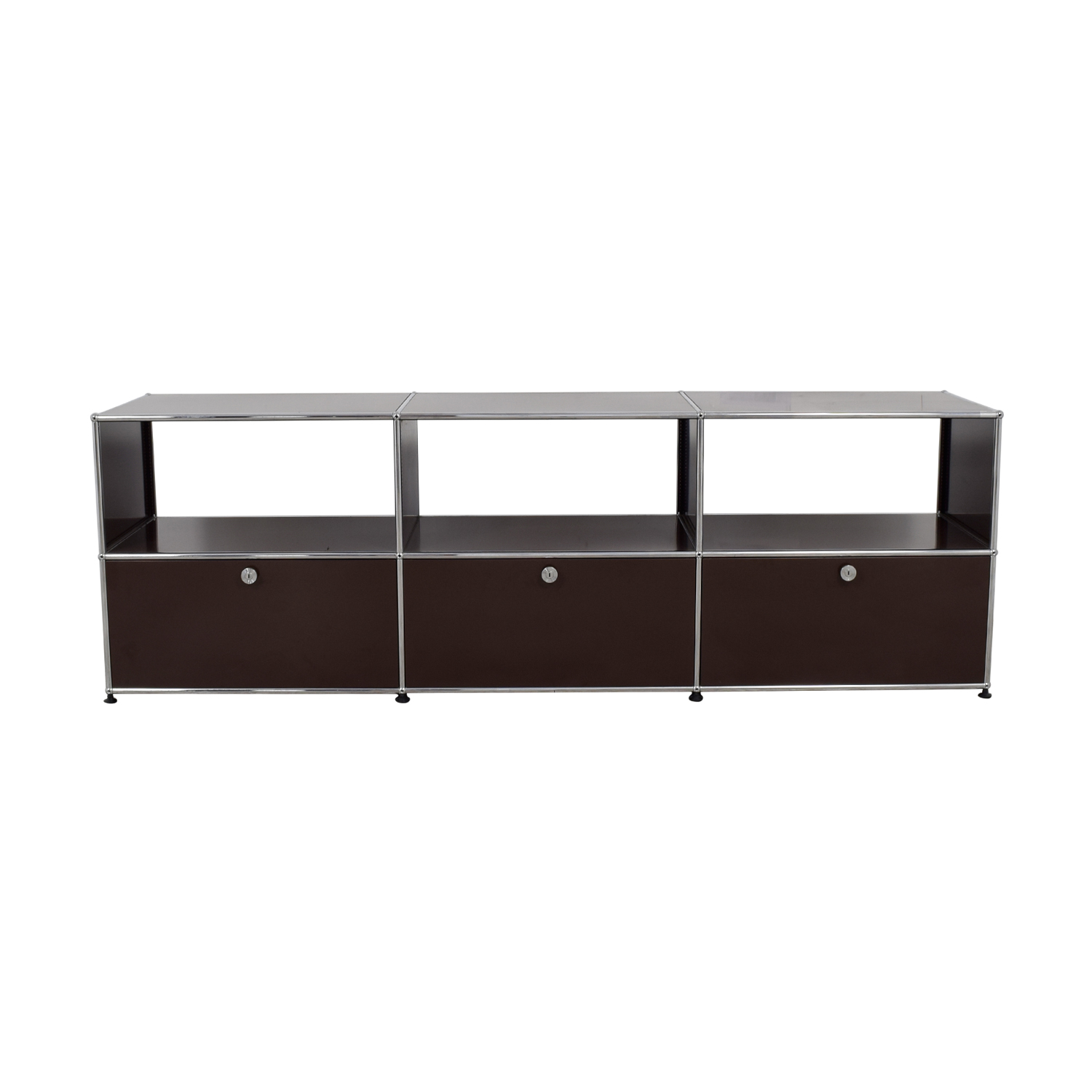shop USM USM TV Console with Three-Drawers online