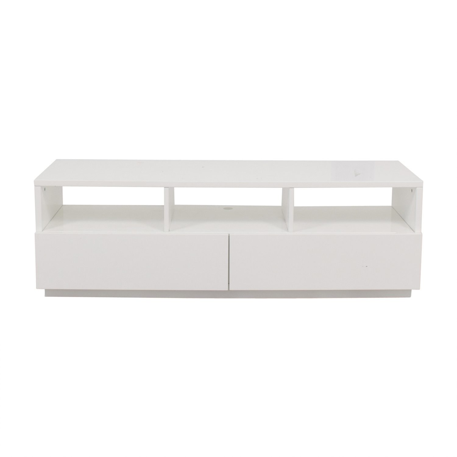 West Elm West Elm Chill White Media Unit used