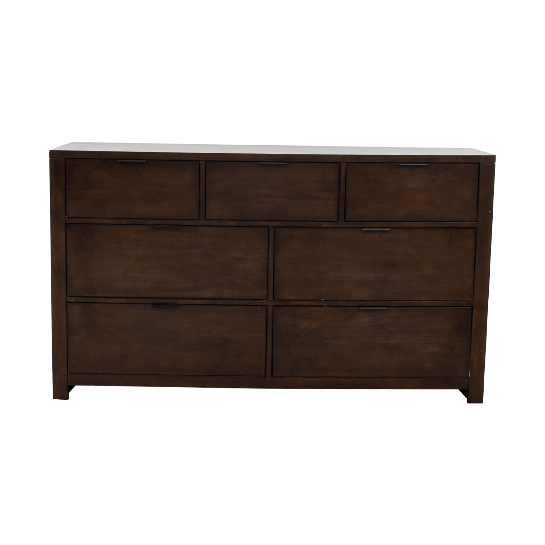 Macy's Tribeca Brown Dresser sale