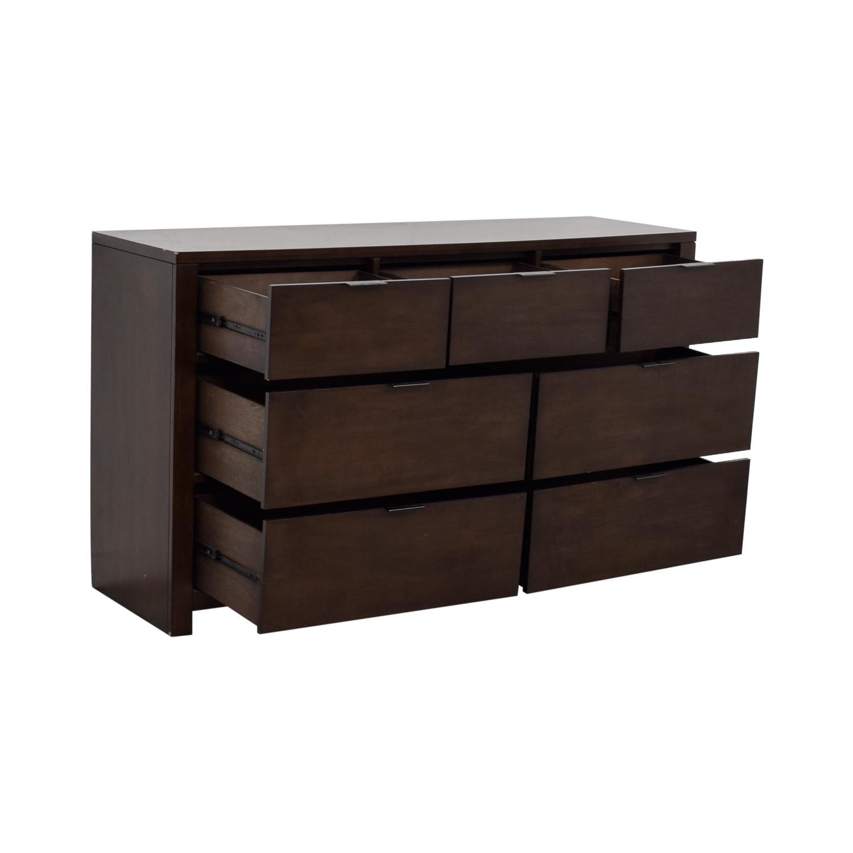 Macy's Macy's Tribeca Brown Dresser for sale