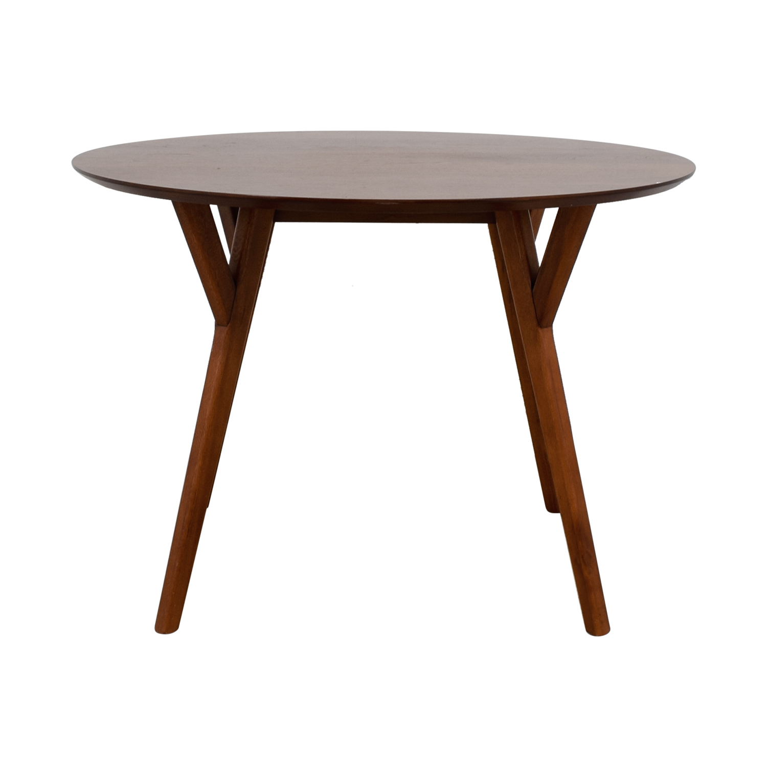 West Elm West Elm Parker Round Wood Dining Table for sale