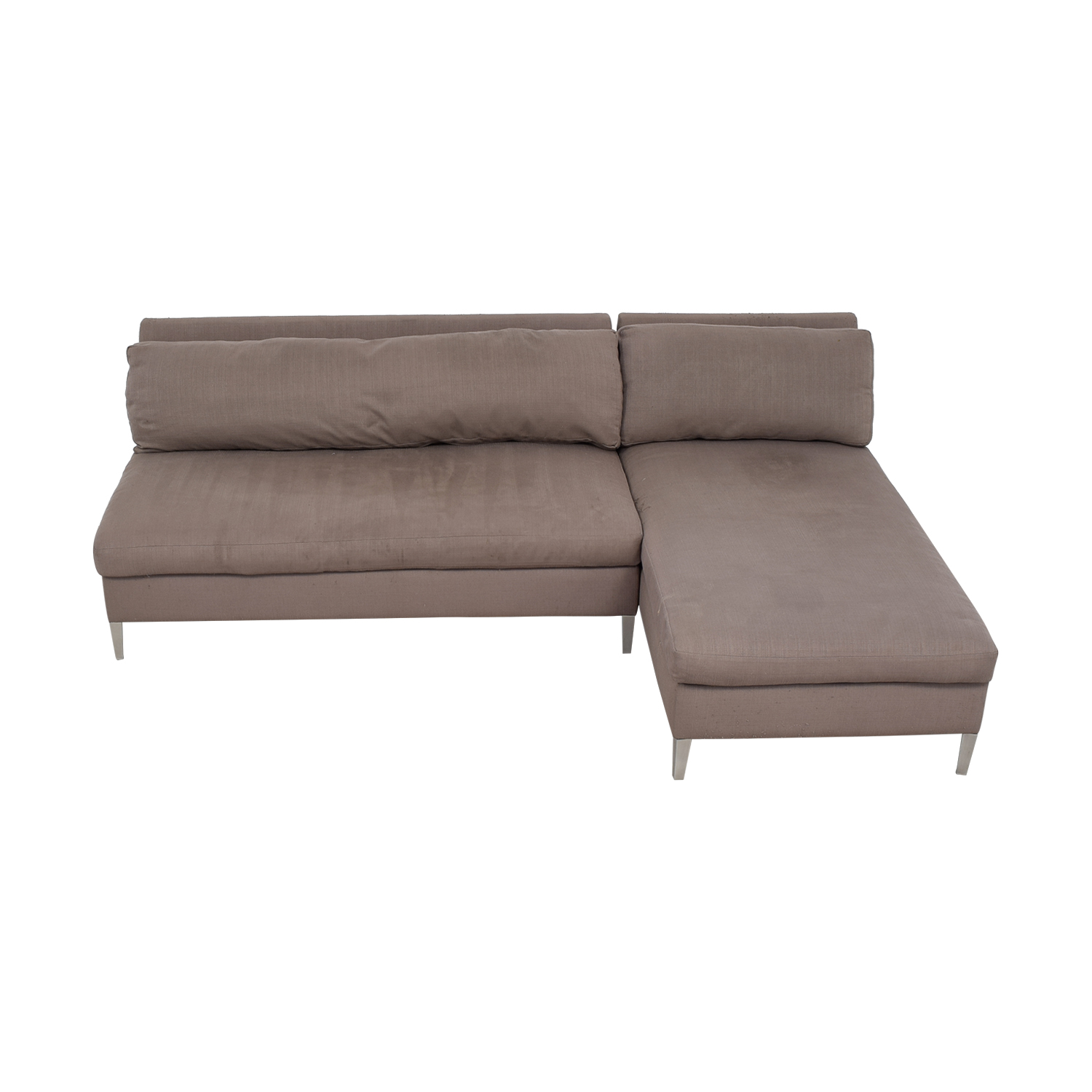 CB2 CB2 Ciello II Grey Chaise Sectional price