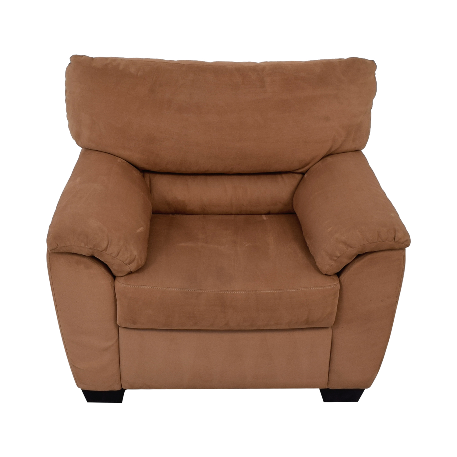 90 Off Bloomingdale S Bloomingdale S Beige Plush Accent Chair