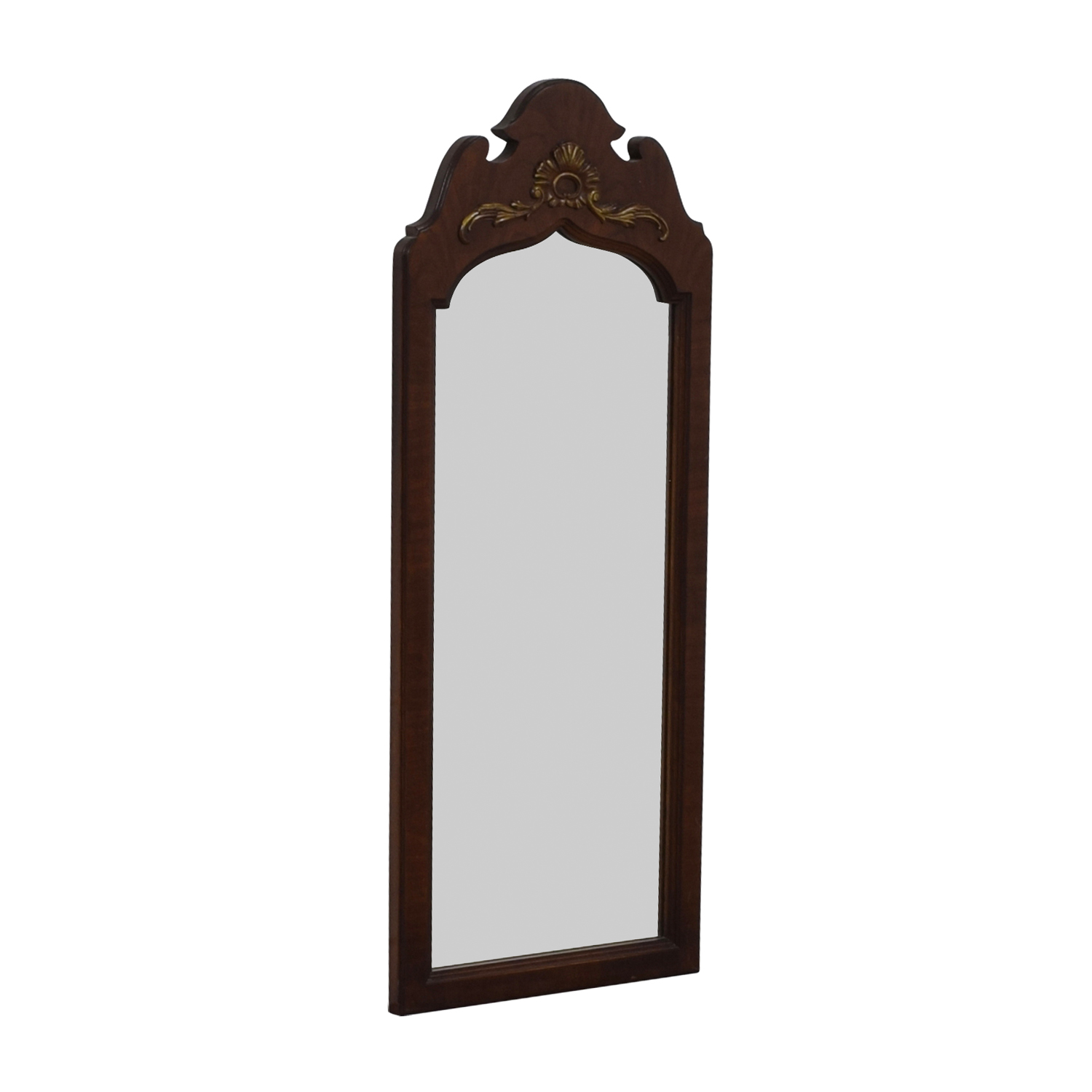 45% OFF - Thomasville Thomasville Cherry Wood Frames Mirror / Decor