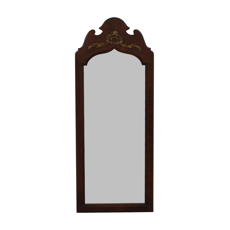 Thomasville Thomasville Cherry Wood Frames Mirror nyc
