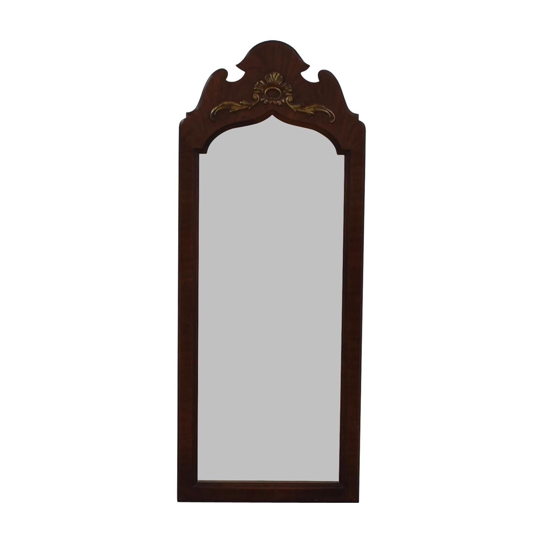 buy Thomasville Cherry Wood Framed Mirror Thomasville Decor
