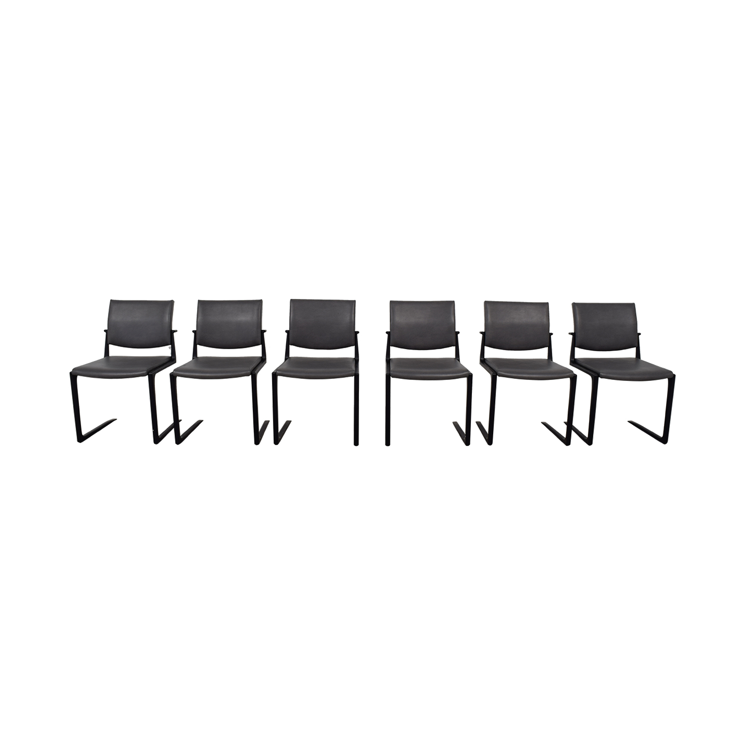 Holly Hunt Holly Hunt Shadow Dining Chairs nyc