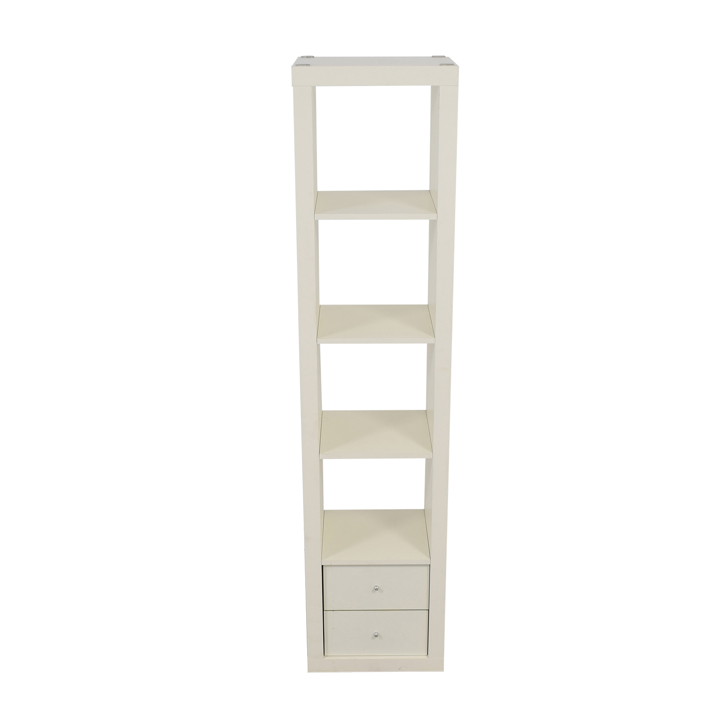 The Container Store The Container Store White Two-Drawer Book  Shelf on sale