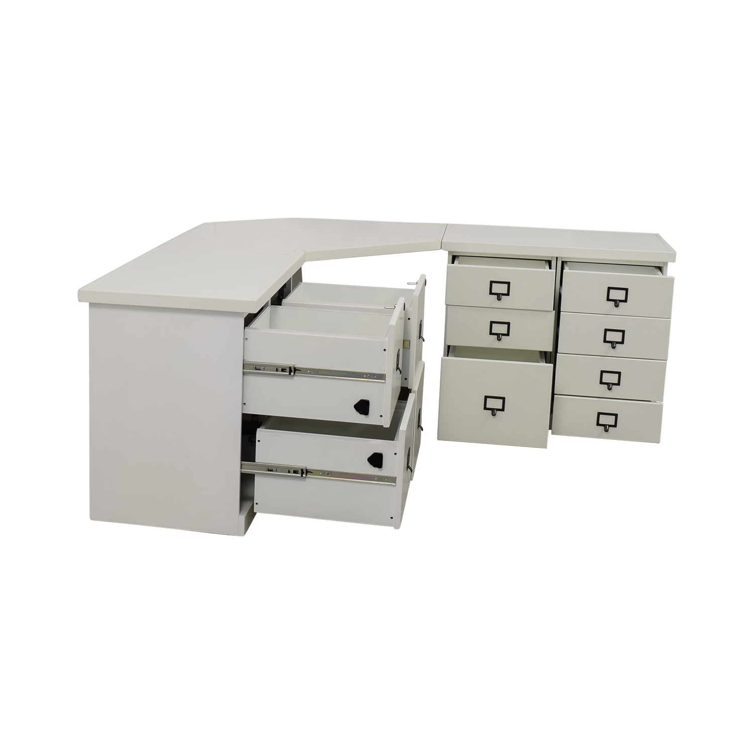 Ballard Designs White Corner Desk With Drawers Tables