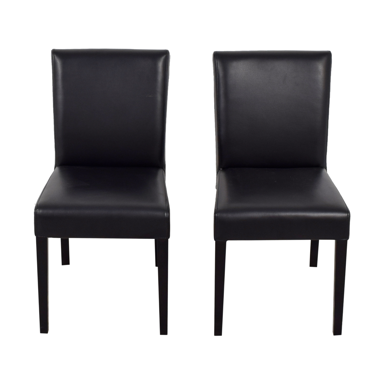 Crate And Barrel Dining Room Chairs: Crate & Barrel Crate & Barrel Lowe Black Leather