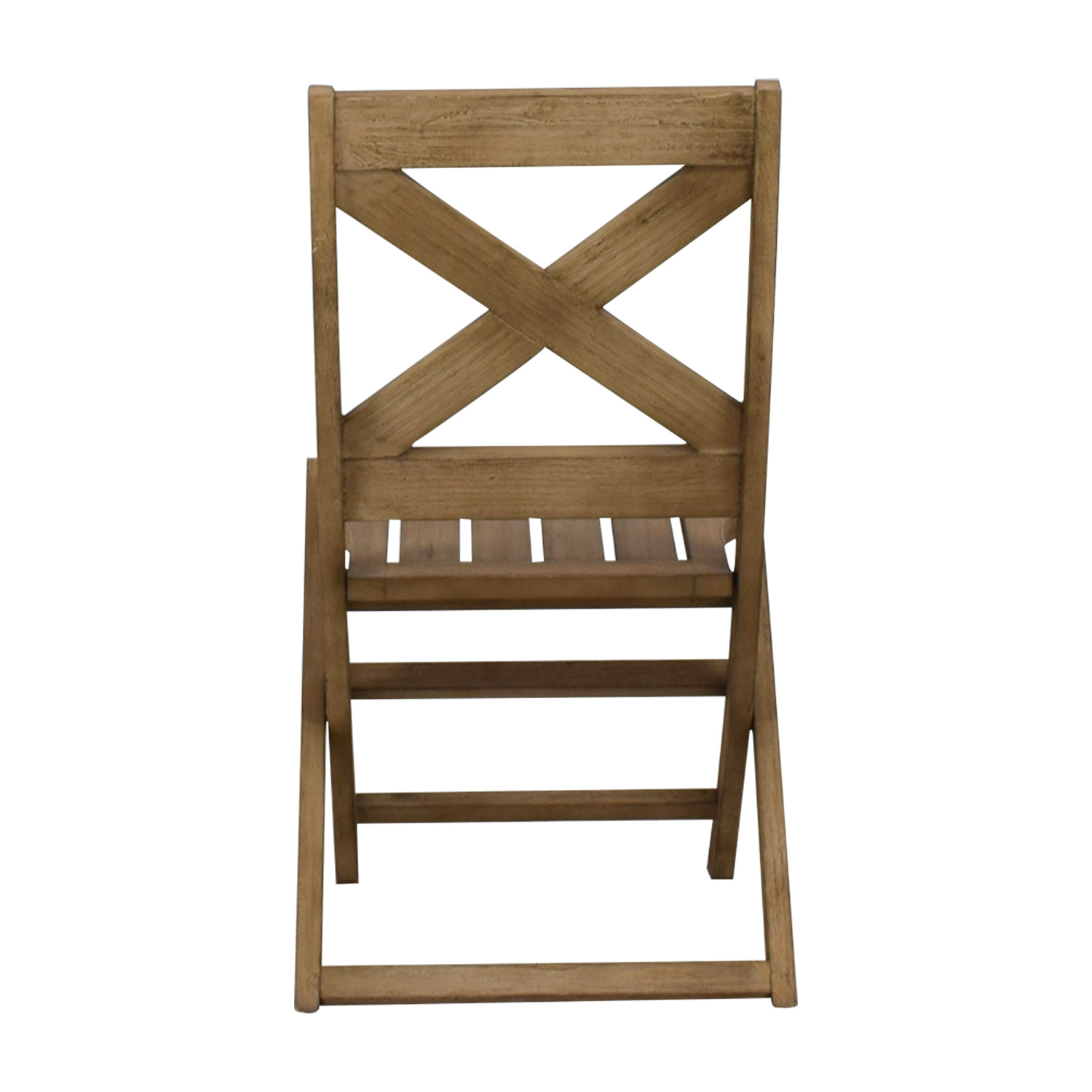 West Elm West Elm Folding Chair second hand