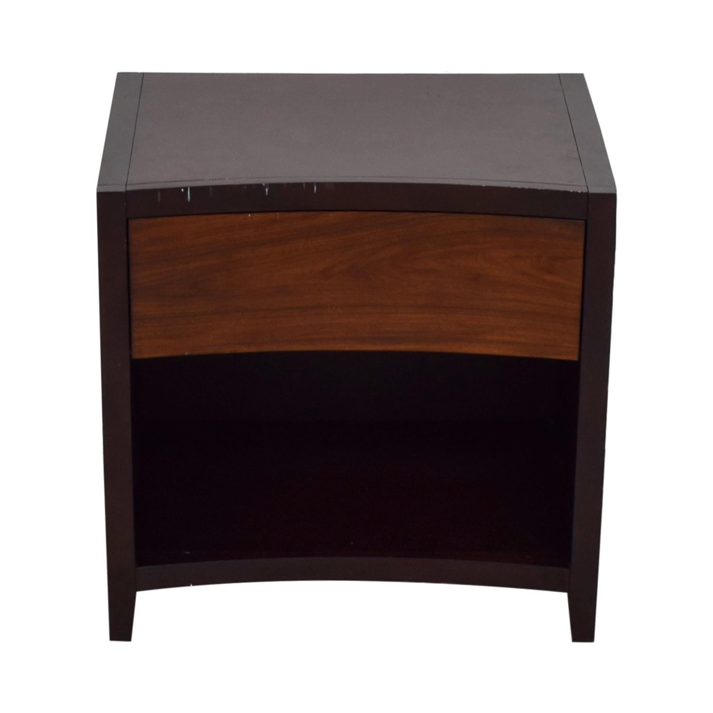 Raymour & Flanigan Raymour & Flanigan Wood Single Drawer Nightstand dimensions