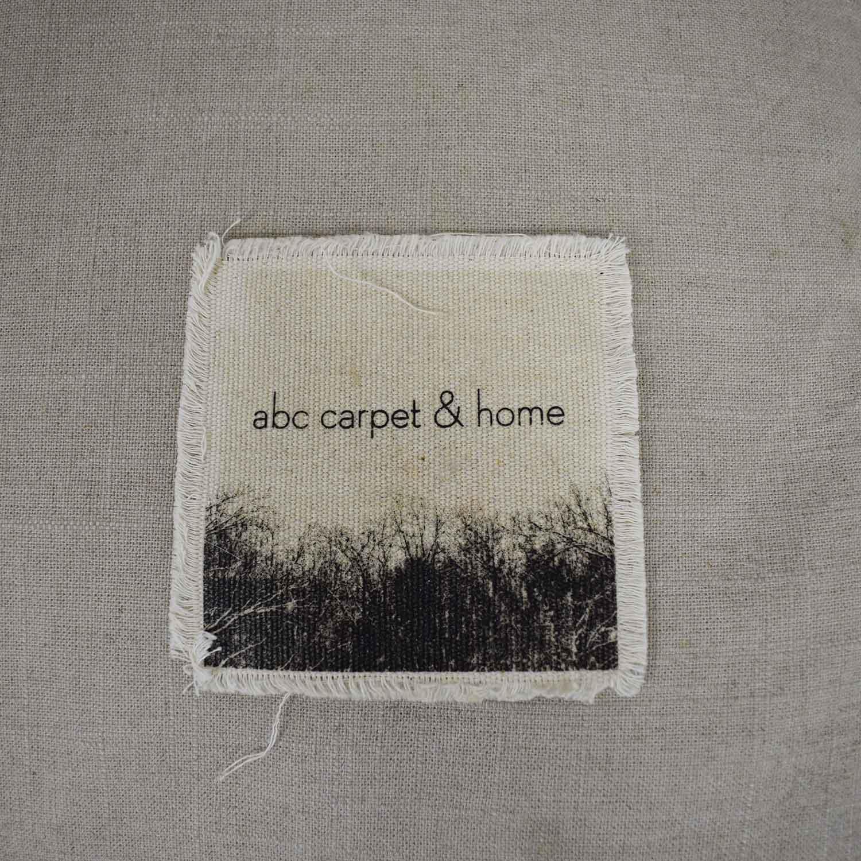 ABC Carpet & Home ABC Carpet & Home Beige Two-Cushion Sofa dimensions