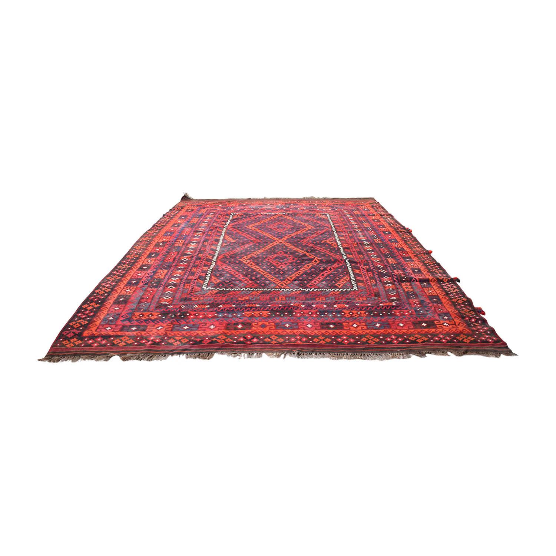 ABC Home & Carpet ABC Home & Carpet Kilim Red Rug