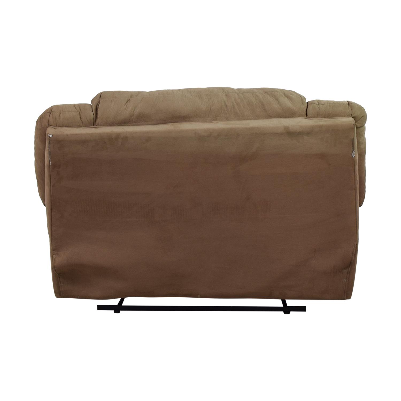 buy Ashley Furniture Signature Design Brown Oversize Recliner Ashley Furniture
