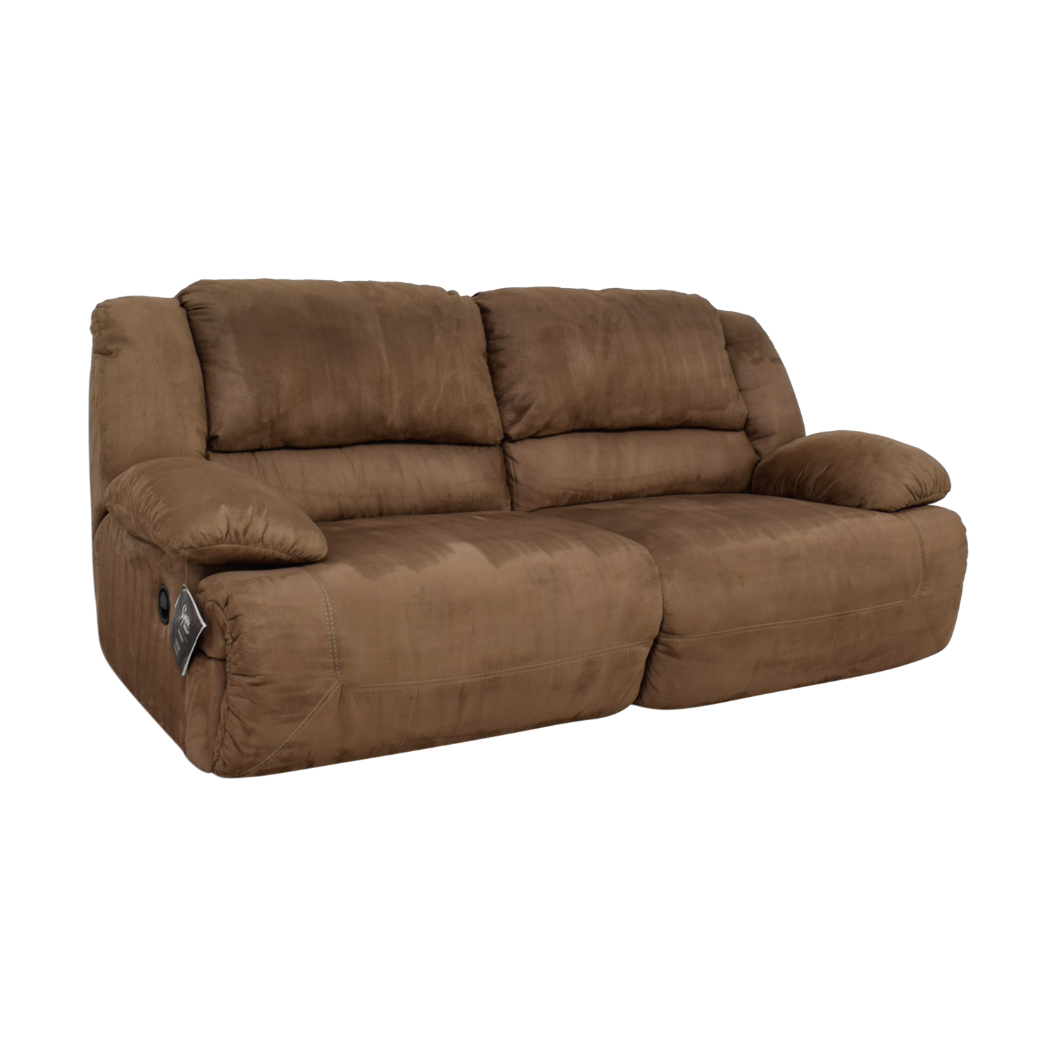 Ashley Furniture Mocha Reclining Sofa Used Jpg 1500x1500