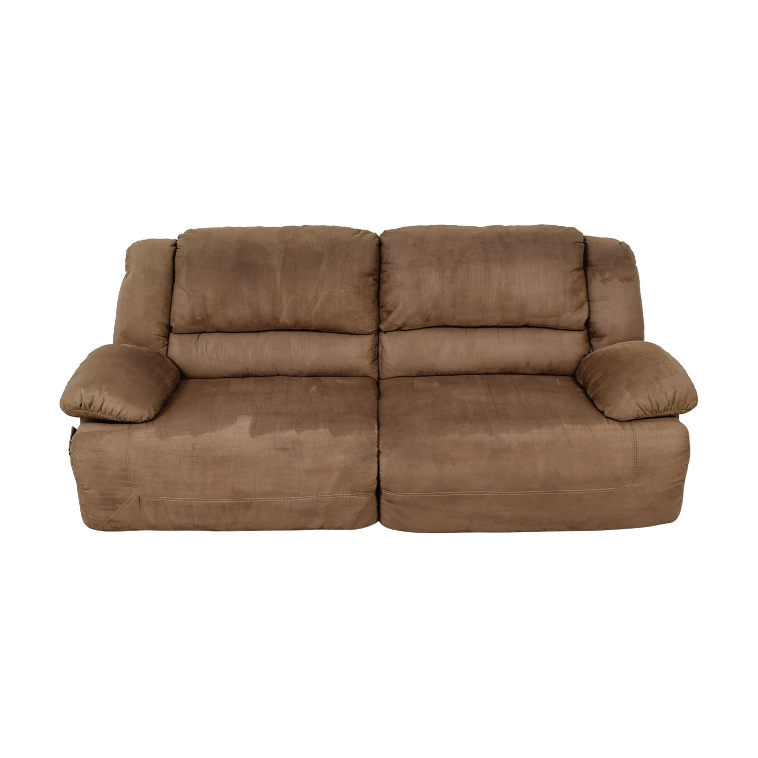 Ashley Furniture Ashley Furniture Mocha Reclining Sofa