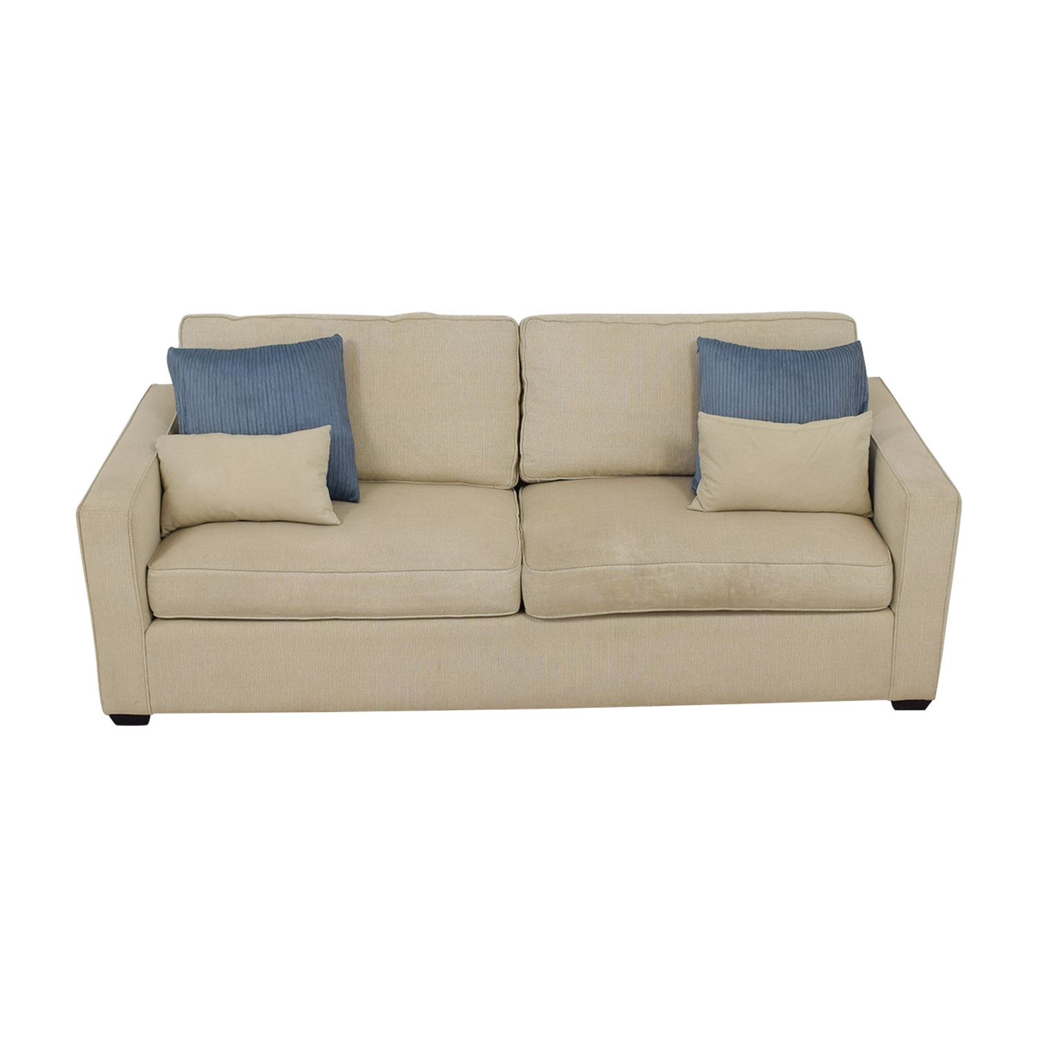 Room & Board Room & Board Dublin Beige Two-Cushion Sofa