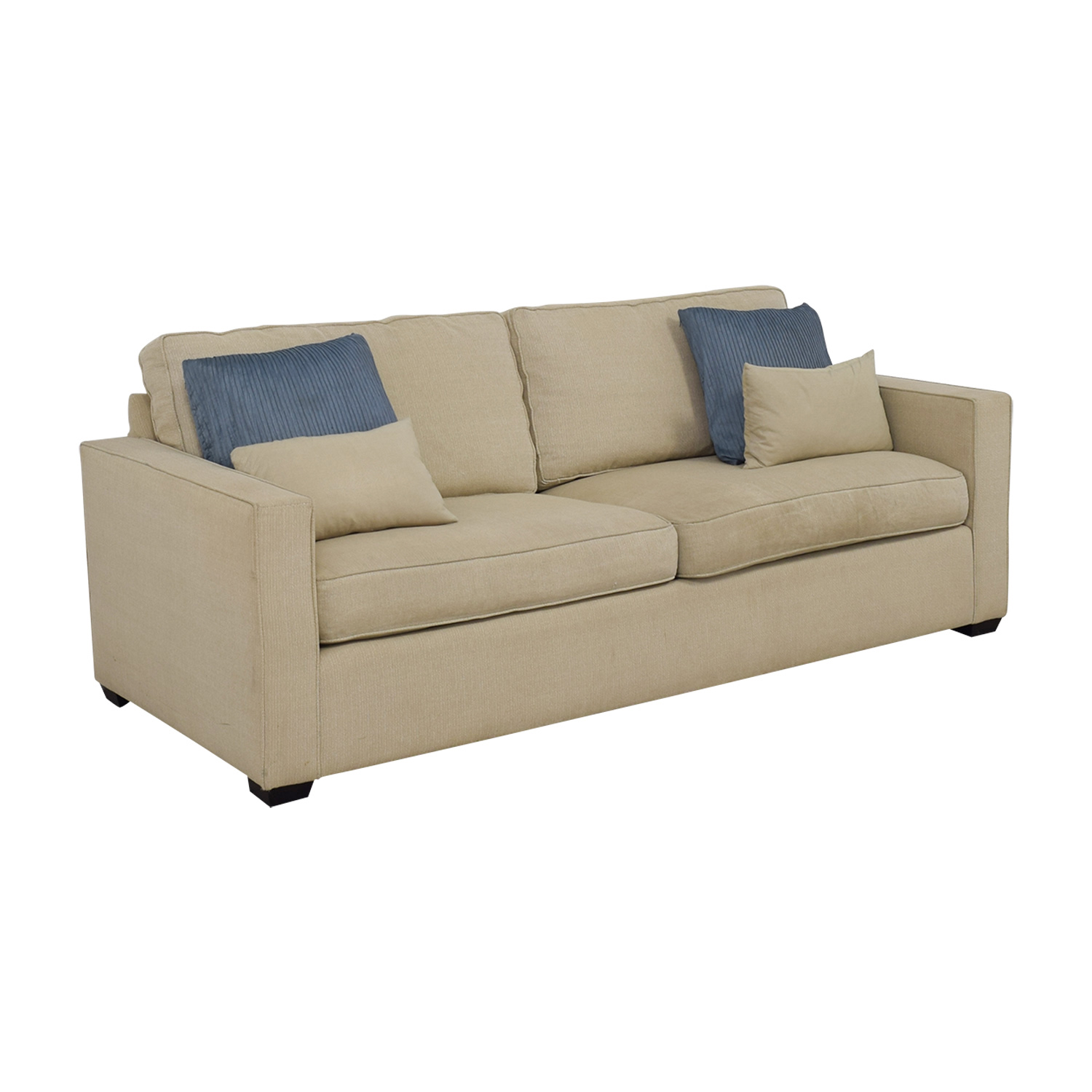 Swell 88 Off Room Board Room Board Dublin Beige Two Cushion Sofa Sofas Alphanode Cool Chair Designs And Ideas Alphanodeonline