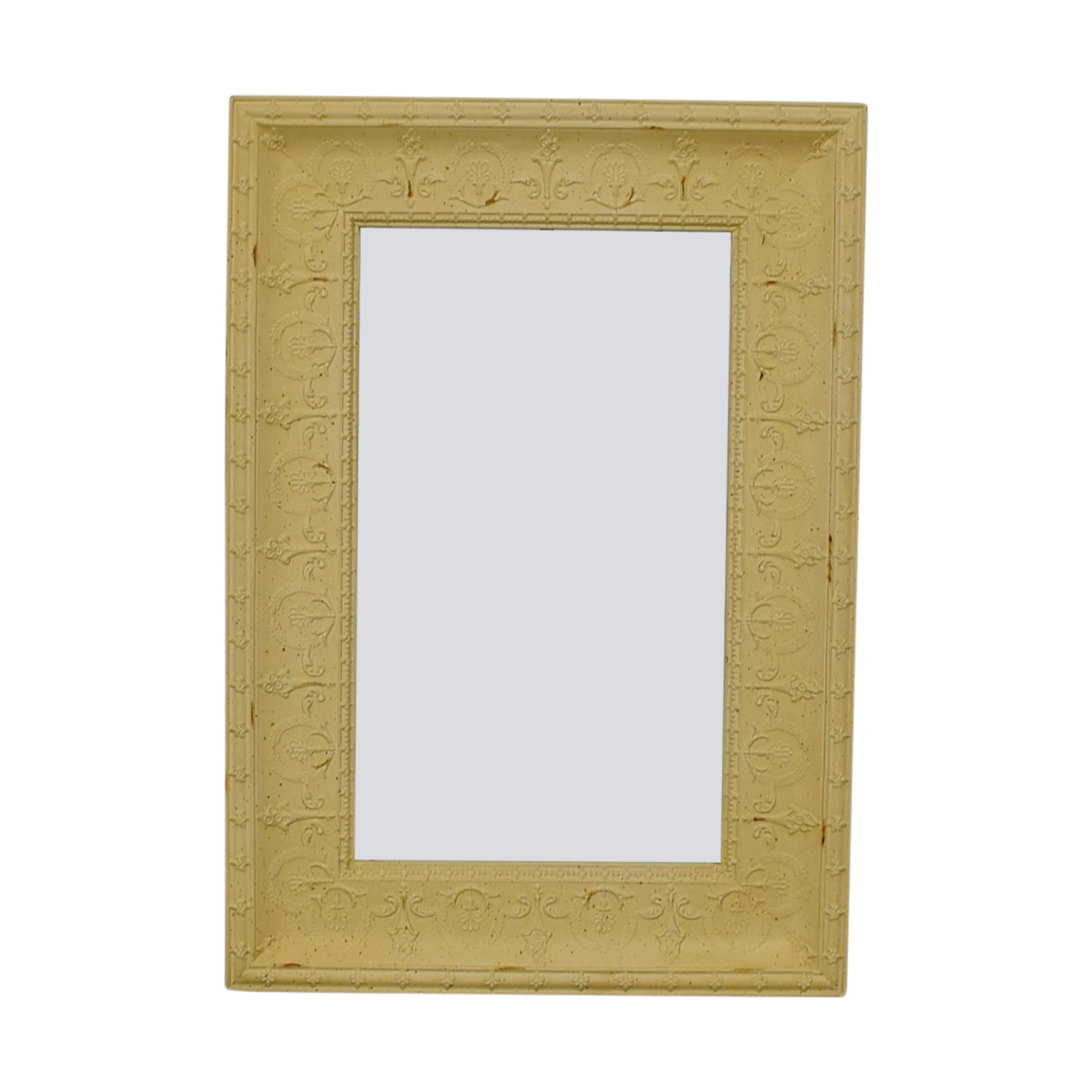 Shabby-Chic Cast Iron Mirror discount