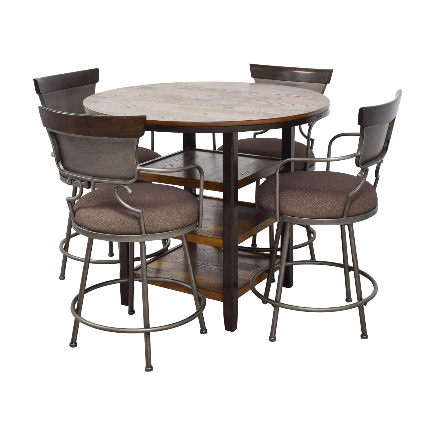 82% OFF - Ashley Furniture Ashley Furniture Counter Height ...