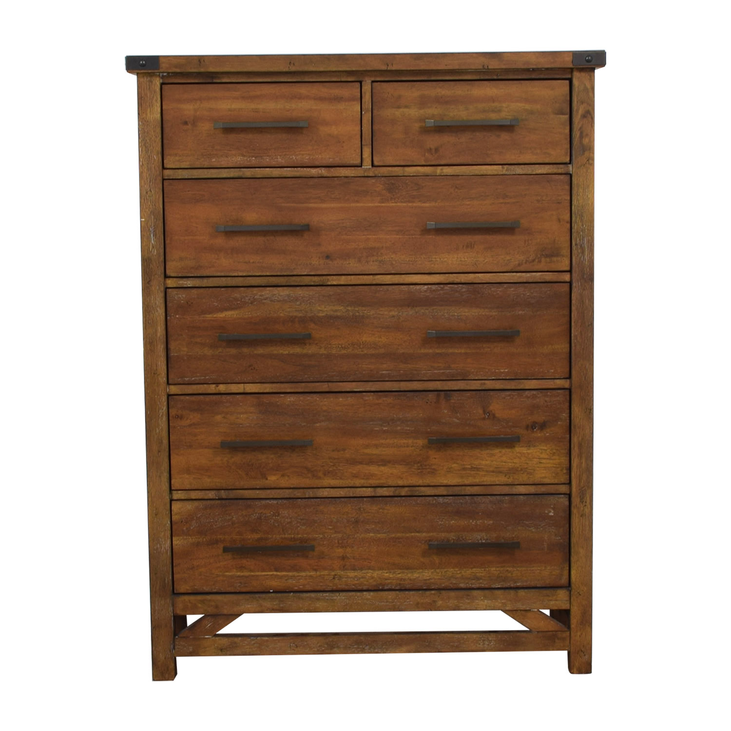 Walter of Wabash Six-Drawer Tall Chest of Drawers / Storage