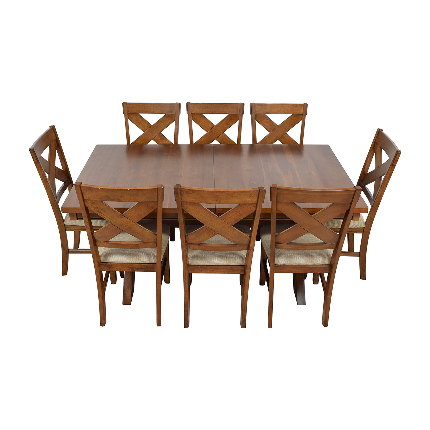 Roundhill Furniture Karven Acacia Dining Set sale