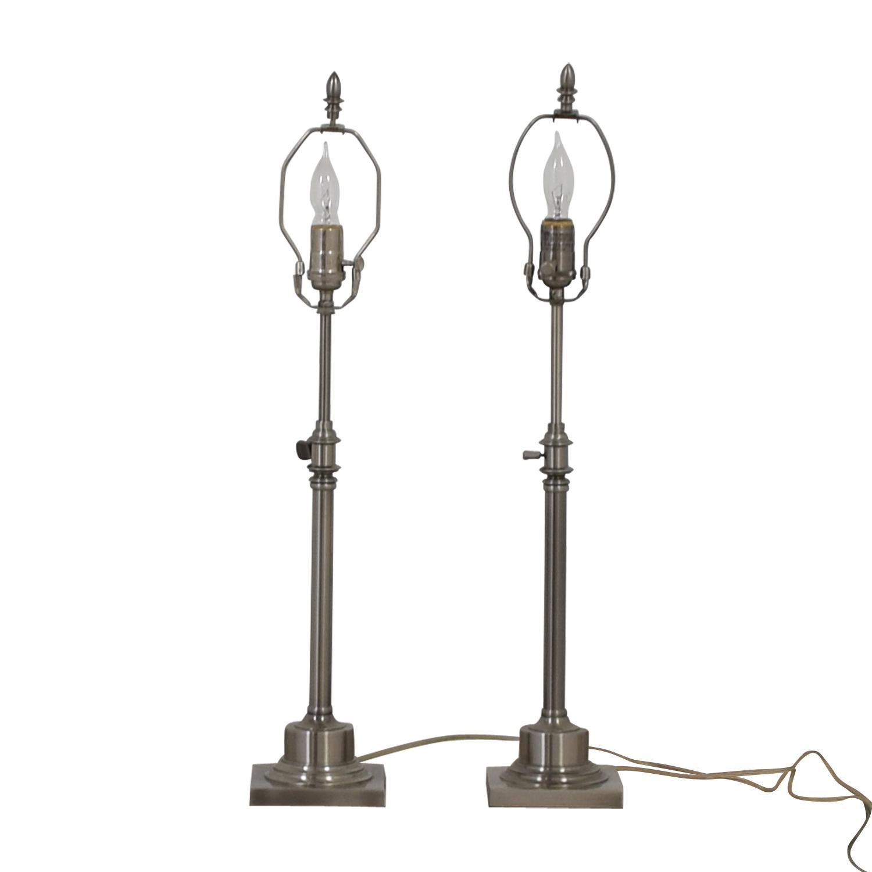 Twin Lamp Bases