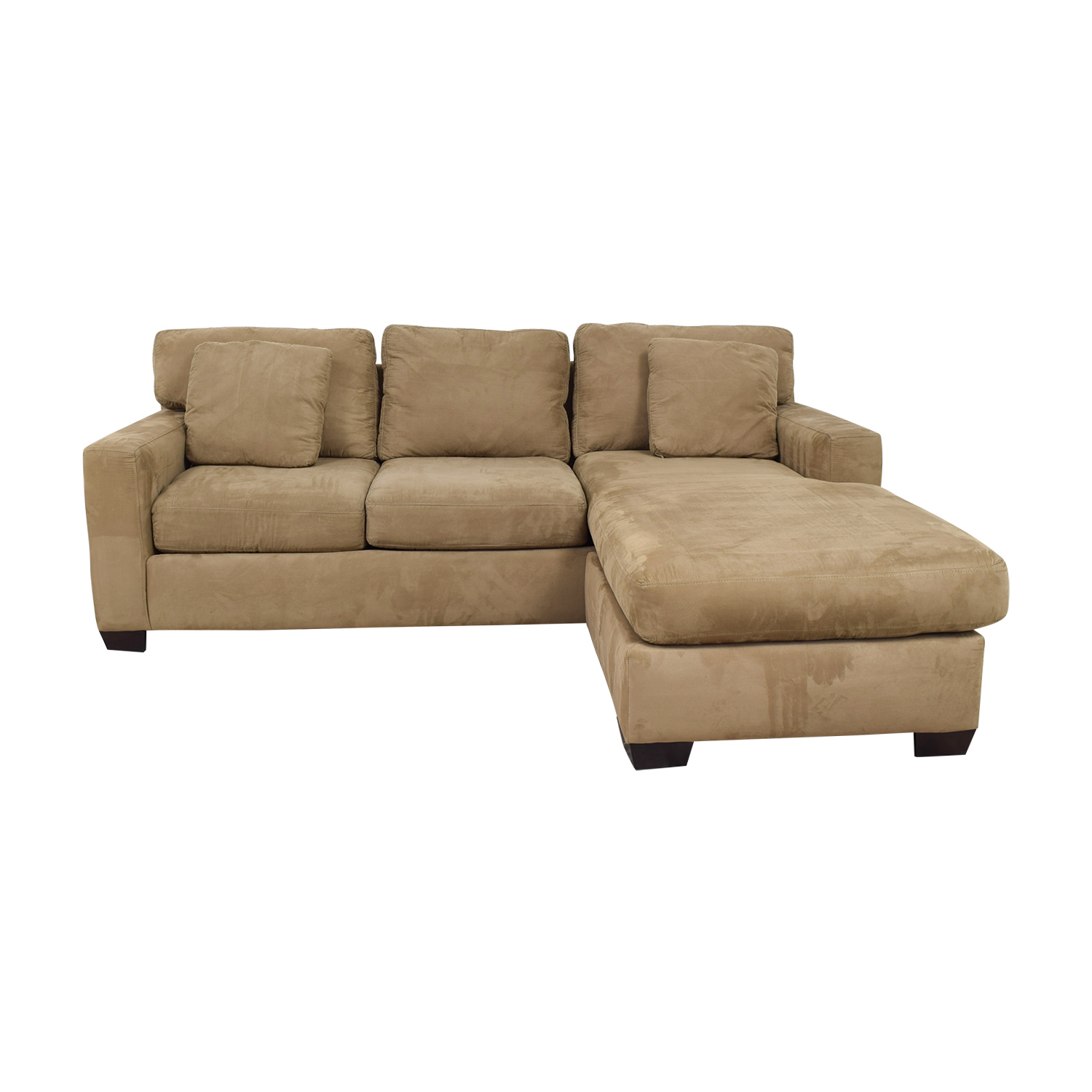 buy Better By Design Beige Chaise Sectional Better By Design Sofas