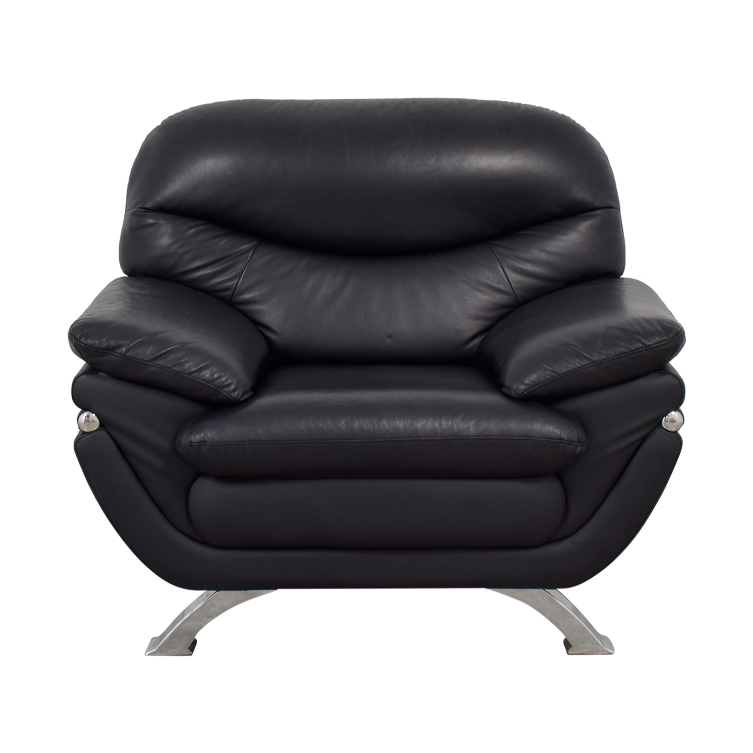 Beverly Hills Beverly Hills Black Accent Chair Chairs