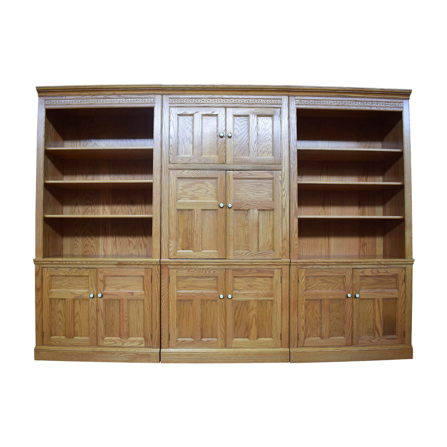 shop Pennsylvania House Pennsylvania House Oak Wall Media Unit online
