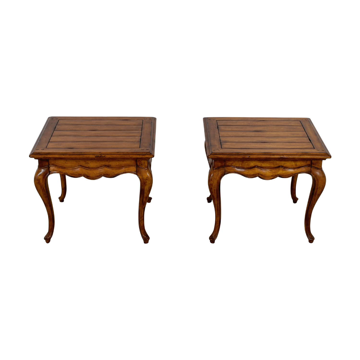 buy Thomasville Dovetailed Wood End Tables Thomasville Tables