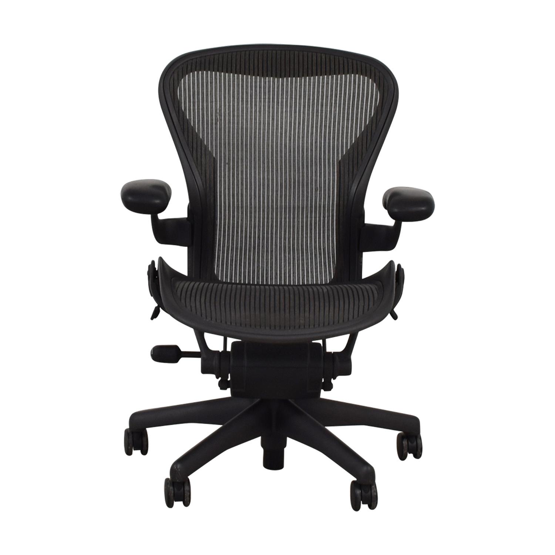 Graphite Chair Office Chair dimensions