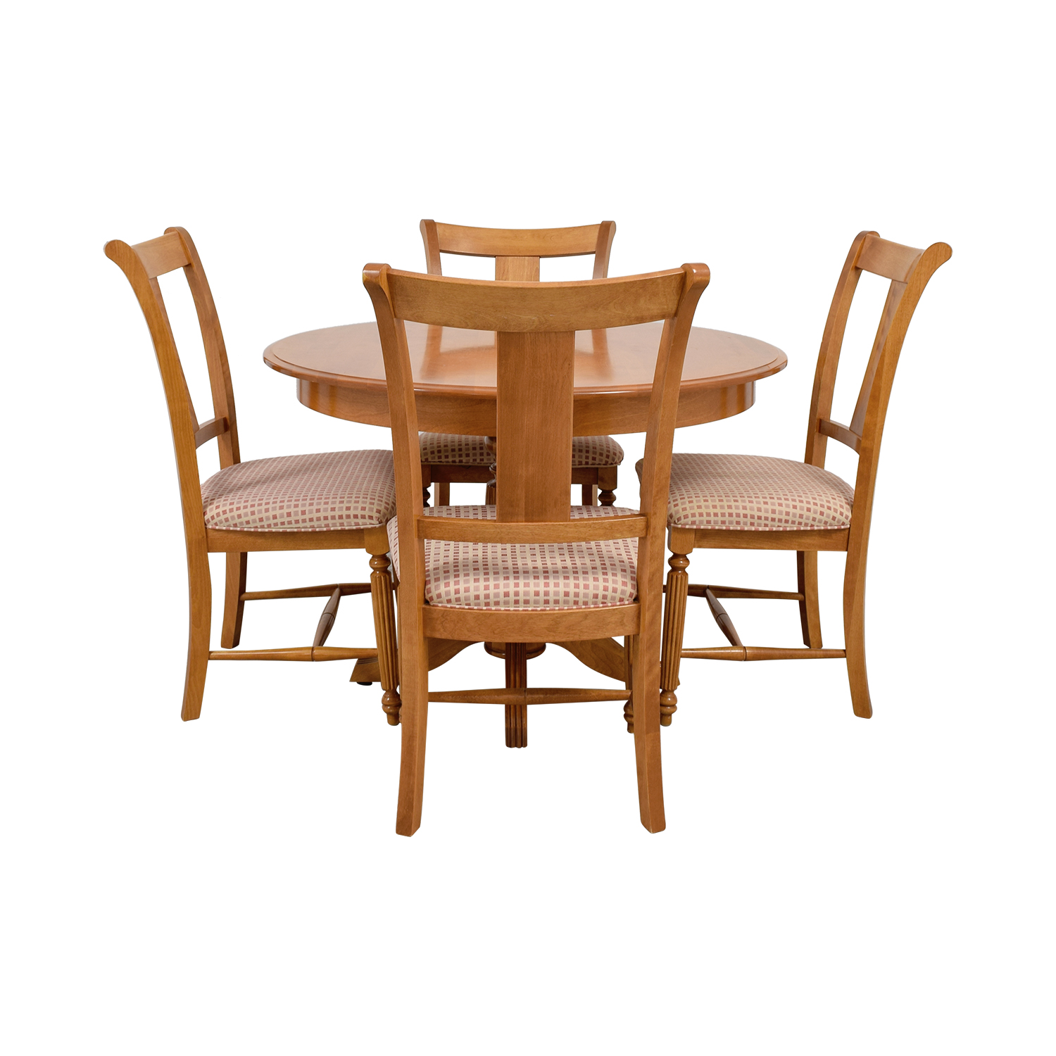 Thomasville Thomasville Wood Extendable Dining Set dimensions