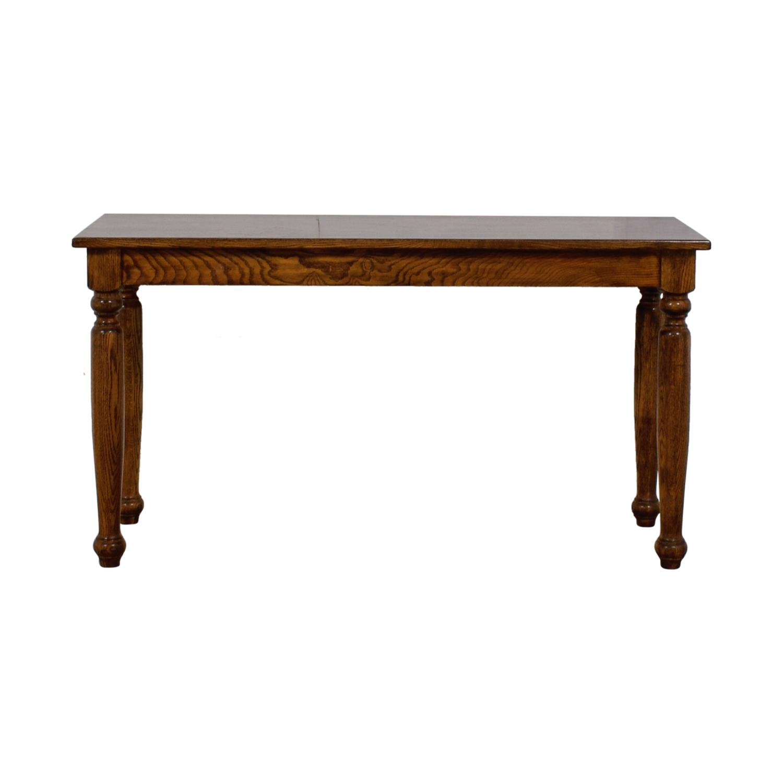 Vintage Wood Foyer Console Table nj