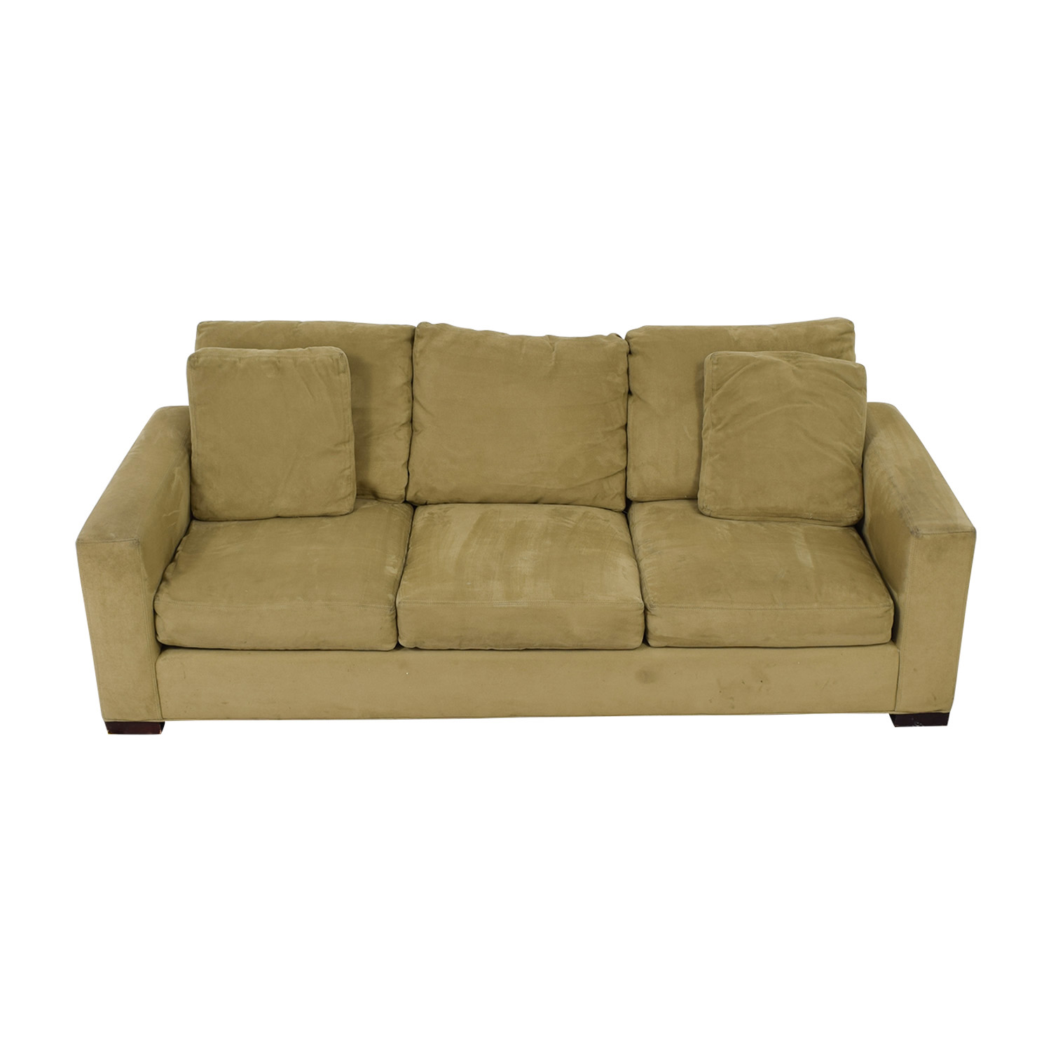 Room & Board Room & Board Metro Beige Three-Cushion Sofa for sale