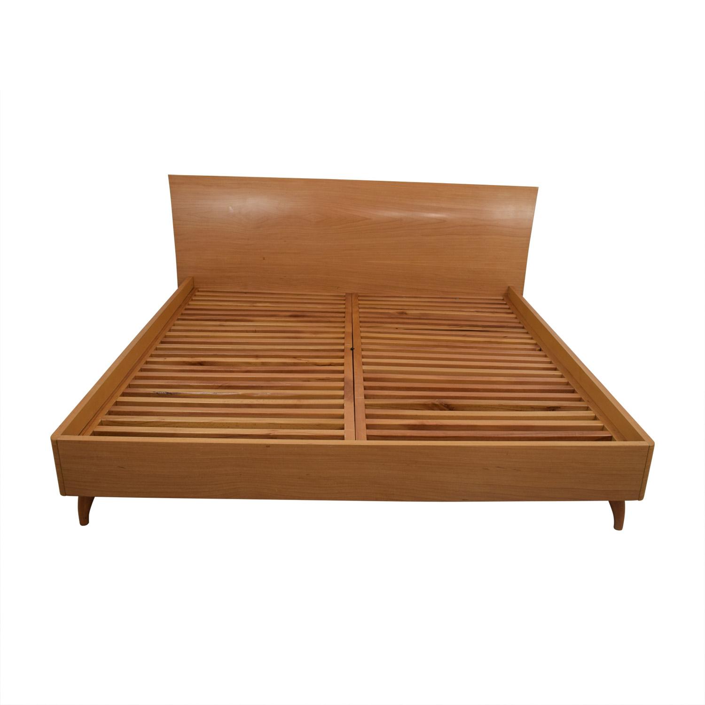 shop Maurice Villency Maurice Villency Rapsody King Platform Bed Frame online