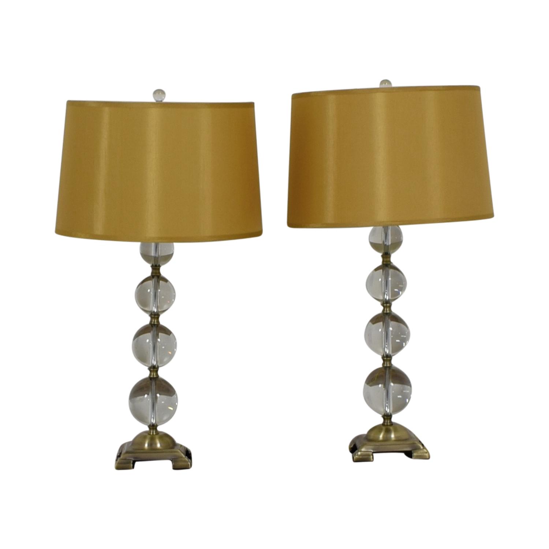 Neiman Marcus Neiman Marcus Crystal Ball Table Lamp Decor