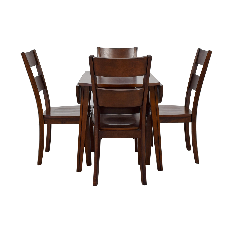 buy Bob's Furniture Bob's Furniture Drop Leaf Dining Set online