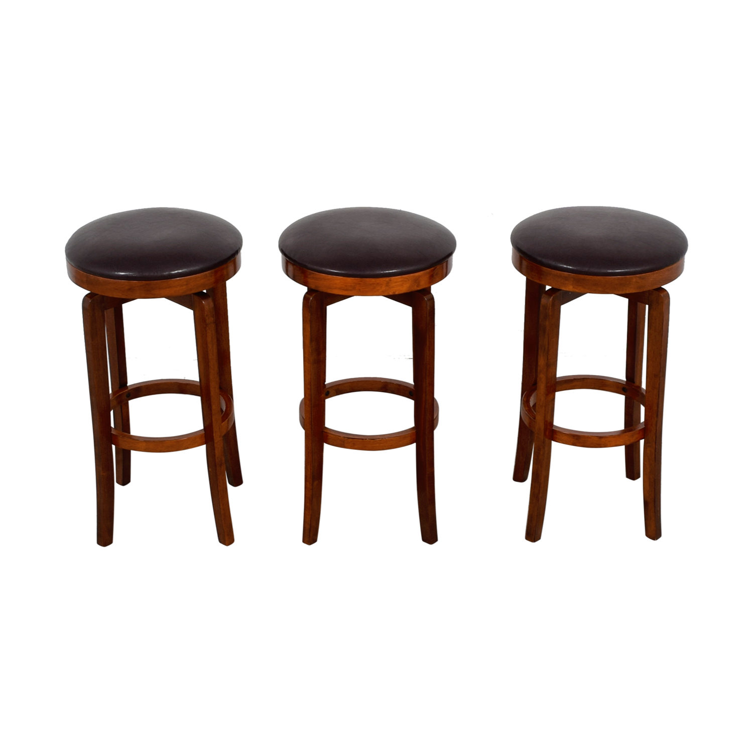 Bob's Furniture Brown Stools Bob's Furniture