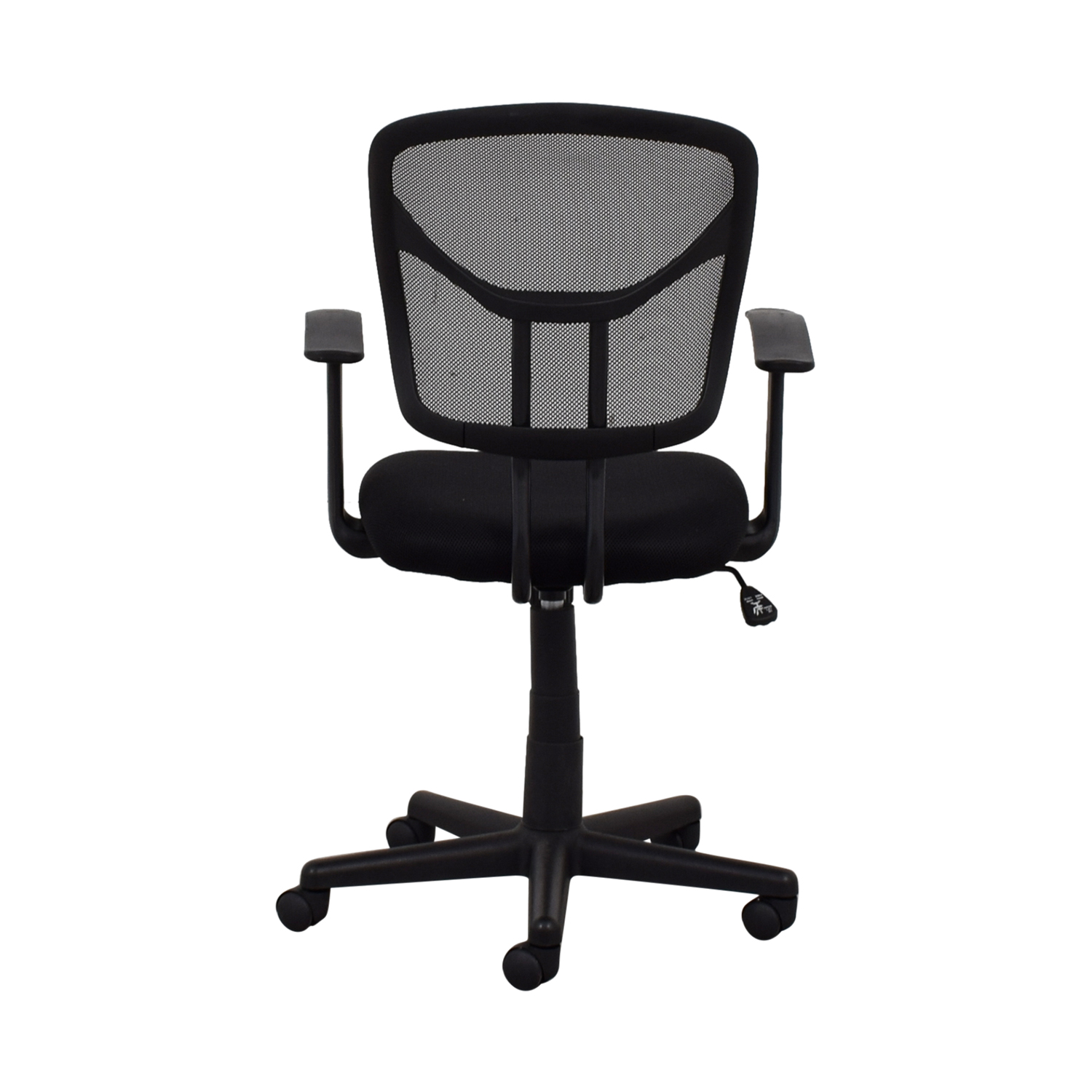 Black Rolling Office Chair for sale