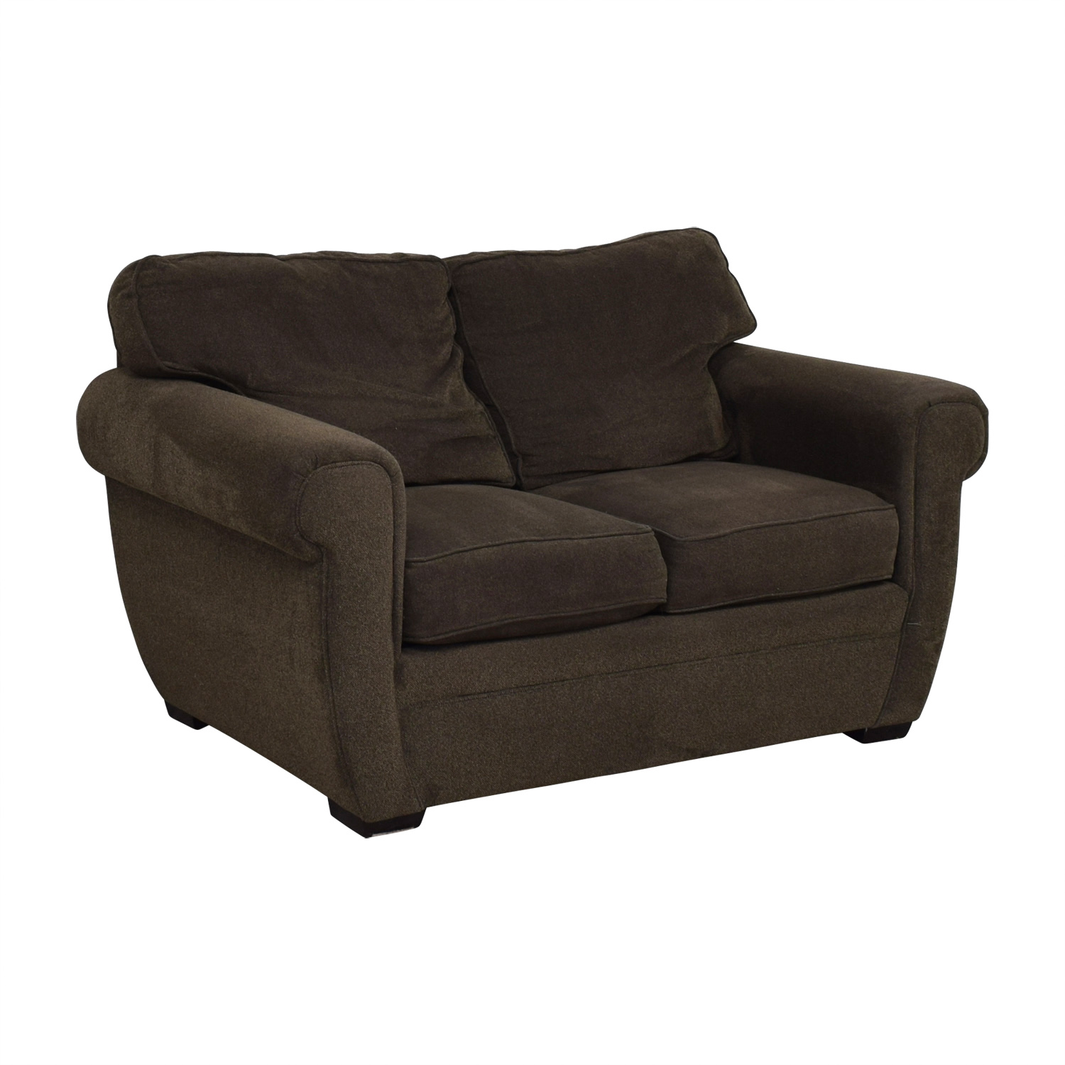 Broyhill Broyhill Brown Loveseat discount
