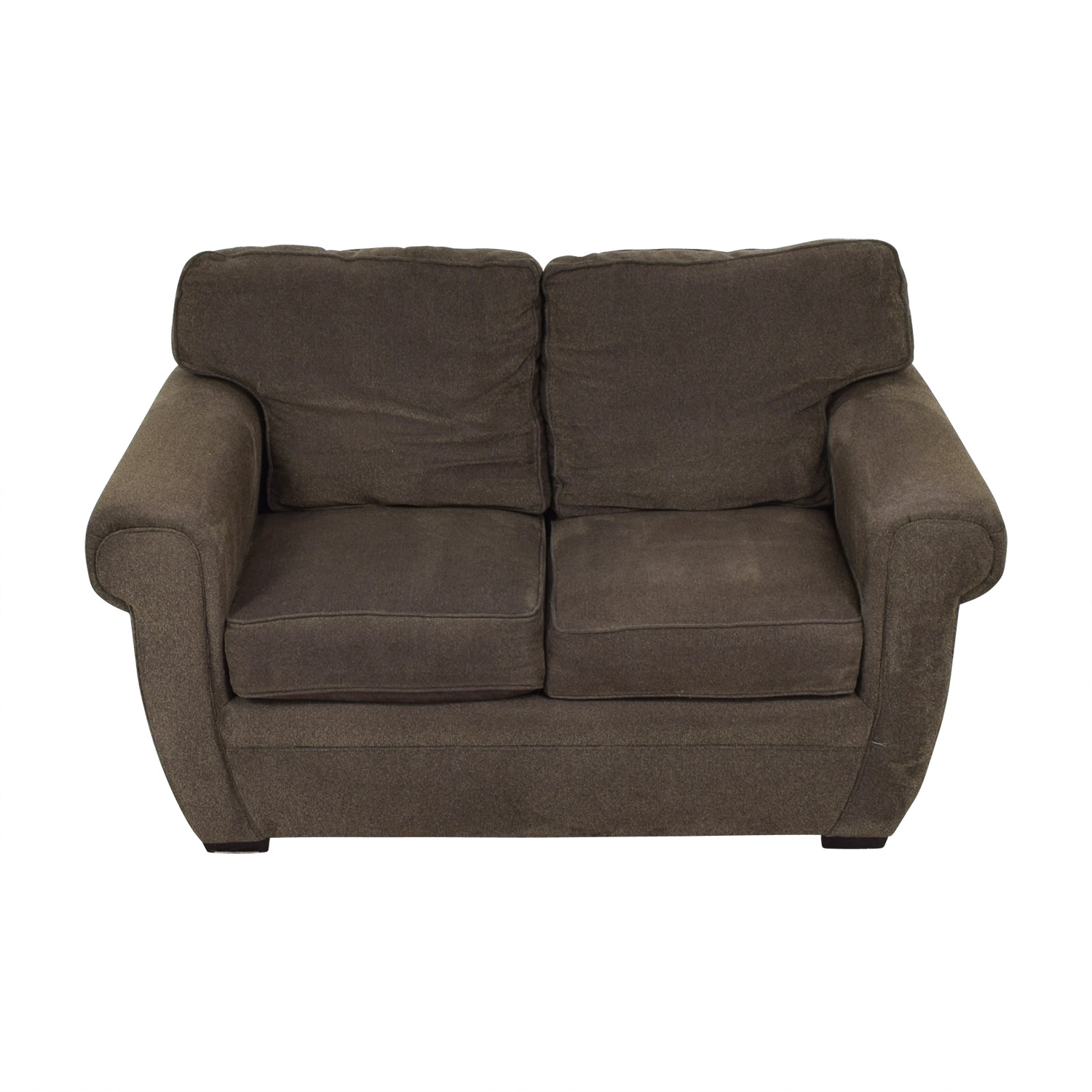 Broyhill Broyhill Brown Loveseat Loveseats