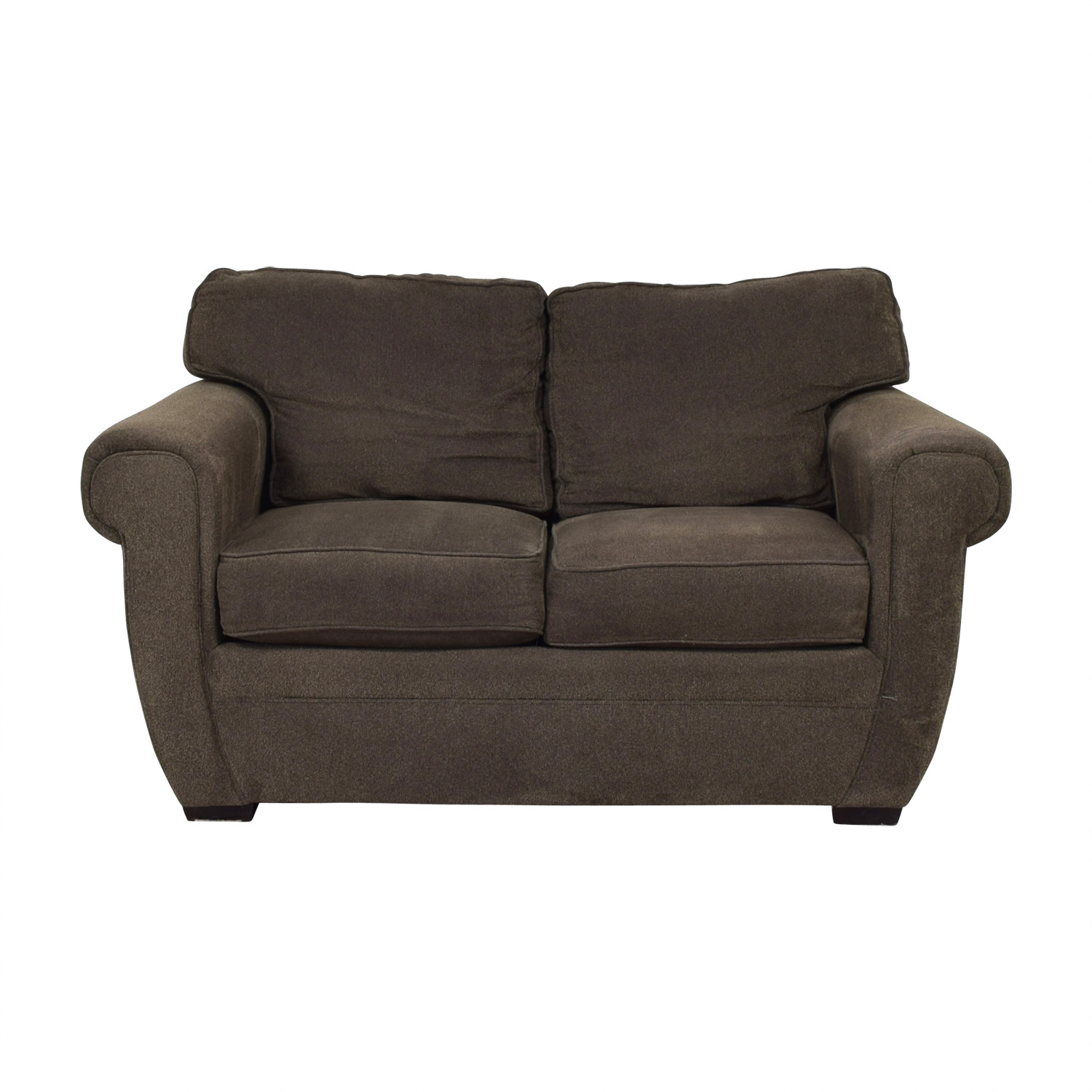 shop Broyhill Brown Loveseat Broyhill Loveseats