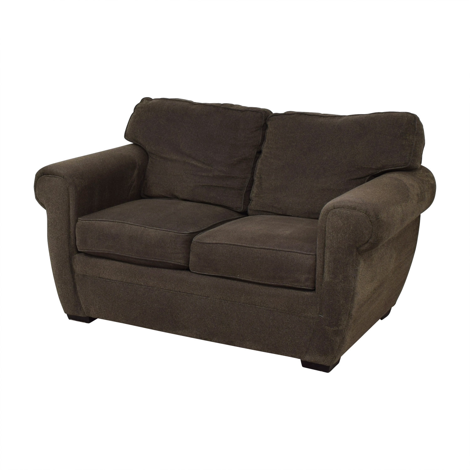 Broyhill Broyhill Brown Loveseat nj
