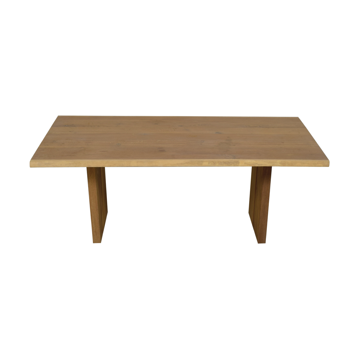 Restoration Hardware Restoration Hardware Natural Rustic Dining Table nj